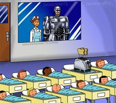 """Robocop Jr..... Is a toaster?"""