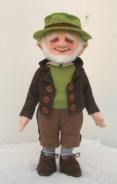 SHUT UP! This doll looks just like a man Jesse and I met in Galway City last summer! Awesome!
