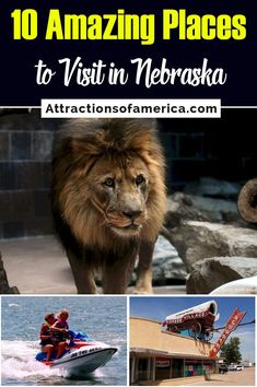 Looking for places to visit in Nebraska? Find unique things to do in Nebraska along with a bucket list of places to visit in NE. Find the top Nebraska attractions for couples or things to do in NE with kids. Use this bucket list to plan your Nebraska itinerary! #Nebraska #thingstodoinNE #NE #USA Visit Omaha, Union Pacific Train, Pioneer Village, Heritage Museum, Air And Space Museum, Museum Displays, Most Beautiful Gardens, Native American Tribes, Horseback Riding