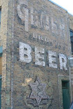 """Gluek Beer """"Ghost Sign"""" by anglerove, via Flickr"""