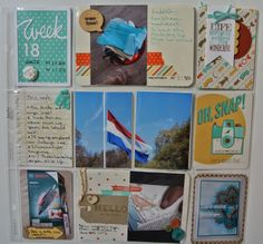 Retro Fresh Project Life Stampin Up by Cards and Scrapping