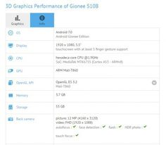 Gionee S10B with 5.5-inch display, Helio P10 SoC and 4GB RAM spotted on GFXBench - http://www.newsandroid.info/2017/04/28/gionee-s10b-with-5-5-inch-display-helio-p10-soc-and-4gb-ram-spotted-on-gfxbench/