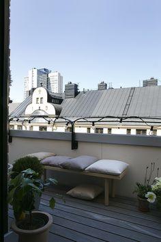 Exterior Design, Interior And Exterior, Interior Balcony, Outdoor Furniture, Outdoor Decor, Sun Lounger, Sweet Home, Homes, Interiors