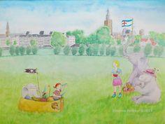 Picknicken aan de IJssel