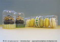 cupcake cookie macaron packaging