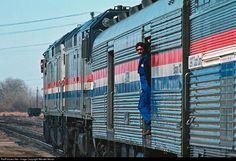 RailPictures.Net Photo: Amtrak EMD F40PH at Glasgow, Montana by Wendel Moran