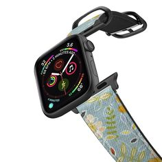 CASETiFY Apple Watch Band - earth joy rust red apple watch band by Sharon Turner Apple Watch Series 3, New Apple Watch, Apple Watch 42mm, Macbook Pro Retina, Macbook Air, Ipad Pro, Apple Watch Bands Gold, Pink Leopard, Cheetah