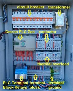 Pin by PLC Mundi on Electric Control Panels in 2019 Electrical Panel Wiring, Electrical Circuit Diagram, Electrical Projects, Electrical Installation, Engineering Projects, Electronic Engineering, Electrical Engineering, Control Engineering, Chemical Engineering