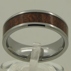 Are you excited?  8mm natural wood ... :-) http://www.sustainthefuture.us/products/8mm-natural-wood-inlayed-small-bevel-men-women-hi-tech-scratch-proof-wedding-tungsten-ring?utm_campaign=social_autopilot&utm_source=pin&utm_medium=pin
