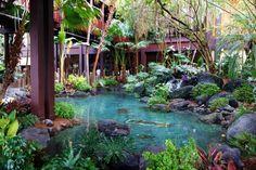 Entry Water Disney's Polynesian Village Resort from yourfirstvisit.net