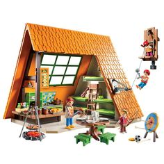 Playmobil® Camping Lodge : The Animal Rescue Site