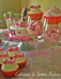Sweet table for Mini Mouse party