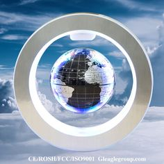 Big magnetic suspension globe anti gravity floating globe levitating world globe