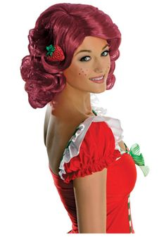 Get one of our Strawberry Shortcake costumes for Halloween and bring back your favorite cartoon character for your next event. We have an adult and kids Strawberry Shortcake costume. Halloween Wigs, Funny Halloween Costumes, Adult Costumes, Halloween Ideas, Halloween Makeup, Halloween 2018, Halloween Town, Spirit Halloween, Costume Wigs
