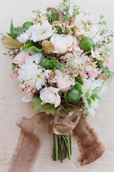 Fall Wedding Bouquets: Fruits, Foliage and Florals