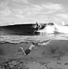 Surfer love.