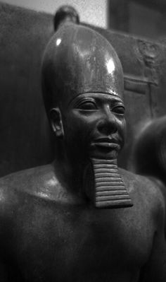King Men-Kau-Re Dynasty circa builder of the last and smallest of the Giza Pyramids (named after him - Menkaure is Divine) Now in Egyptian Museum, Cairo, Egypt Ancient Egyptian Artifacts, Ancient Aliens, Ancient Art, Ancient History, Kemet Egypt, Cairo Egypt, Cradle Of Civilization, Black History Facts, African American History
