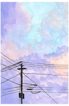 Aesthetic Painting, Aesthetic Art, Aesthetic Outfit, Aesthetic Clothes, Aesthetic Drawings, Watercolor Sunset, Watercolor Ideas, Tattoo Watercolor, Watercolor Techniques
