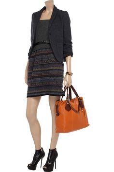 Metallic wool-blend dress by Vanessa Bruno Athé