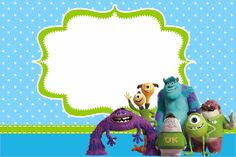 Monster University: Free Printable Party Invitations. | Oh My Fiesta! in english
