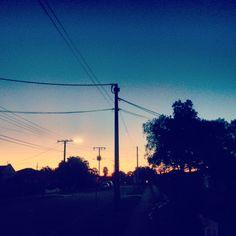 Dusk on our street #Adelaide