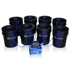 Special Offers - Deep Water Culture (DWC) Hydroponic Bubbler 8 Bucket Kit with 10 Lids by PowerGrow  Systems - In stock & Free Shipping. You can save more money! Check It (April 04 2016 at 08:12AM) >> http://growlightusa.net/deep-water-culture-dwc-hydroponic-bubbler-8-bucket-kit-with-10-lids-by-powergrow-systems/