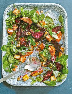 Hearty beetroot and fried paneer give this vegetarian salad recipe the extra oomph to leave you completely satisfied.