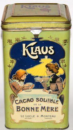 Klaus CACAO Blechdose / Tin