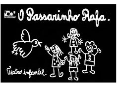 cartaz-teatro infantil, porto alegre, 1984