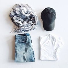 Teenage Fashion Blog: Lovely Scarf & Simple But The Best Teenage Fashion...