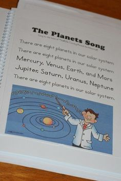 solar system activities Kudos to outer-space-theme-ideas - like the song/poem Solar System Song, Solar System Activities, Space Activities, Science Activities, Science Projects, Science Ideas, Science Lessons, Science Experiments, 4th Grade Science