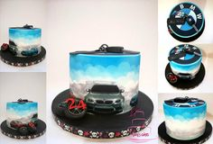 I Love BMW - Cake by KamiSpasova