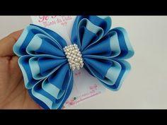 Diy Lace Ribbon Flowers, Ribbon Art, Diy Ribbon, Ribbon Crafts, Fabric Flowers, Ribbon Rose, Kanzashi Tutorial, Hair Bow Tutorial, Flower Tutorial