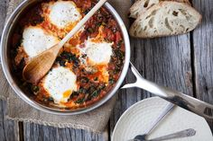 eggs tomato kale 1 by Photosfood52, via Flickr