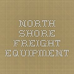 North Shore Freight Equipment.  Lots of pictures of North Chicago