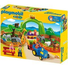 Amazon.com: Playmobil Large Zoo: Toys & Games