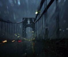 The George Washington Bridge, Hurricane Irene 2011