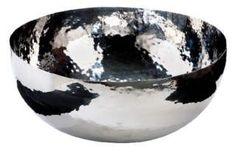 Schale/Basin XXL, gehämmert, Durchmesser: 70 cm, H: 30 cm, 1.889