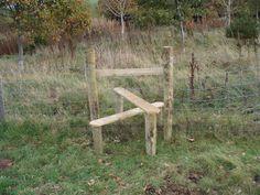 boundary fence idea-dog proof?
