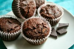 Breakfast double chocolate muffins #glutenfree #vegan #foodsensitivities