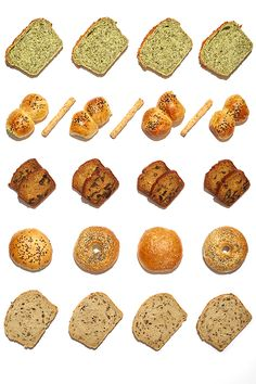 Food Pattern poster series created for Ninina Bakery in Buenos Aires, Argentina. Ninina Bakery, Food Patterns, Poster Series, Food Styling, Breakfast, Anna, Behance, Morning Coffee, Eating Habits