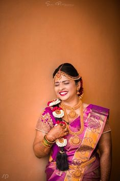 "Photo from SADuphotography ""Karthik ~ Nikitha"" album Designer Bridal Lehenga, Bridal Lehenga Choli, Saree, Indian Flowers, Hairstyle Wedding, Wedding Preparation, Mehendi, Bun Hairstyles, Long Hair Styles"