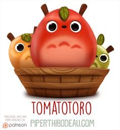 Tomototoro by Cryptid-Creations.deviantart.com