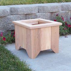 Handmade cedar planters jardinage ext rieur et jardins for Exterieur creative box
