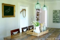 Farmhouse Kitchen - Summer Farmhouse Tour - @nestofbliss