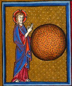 Creation Scene: 1st Day | Psalter-Hours of Guiluys de Boisleux | France, Arras | after 1246