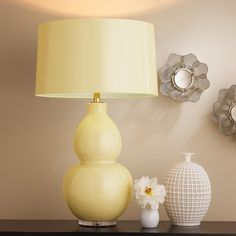 Pop Color Modern Ceramic Table Lamp from Shades of Light
