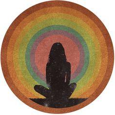 Mixed Media - Rainbow Connection by Lori Menna Rainbow Connection, Boho Stil, Mystique, Hippie Art, Yoga Art, Wallpaper, Art Inspo, Bunt, Wall Collage