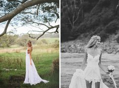 Bohemian Wedding Dress 'Hollie' by Grace Loves Lace. I'm obsessed with this dress! It might be the one! ❤️
