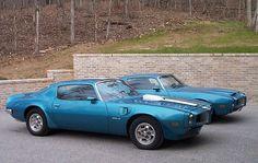 1971 Lucerne Blue 455HO Pontiac Trans Am & 1970 Pontiac Formula